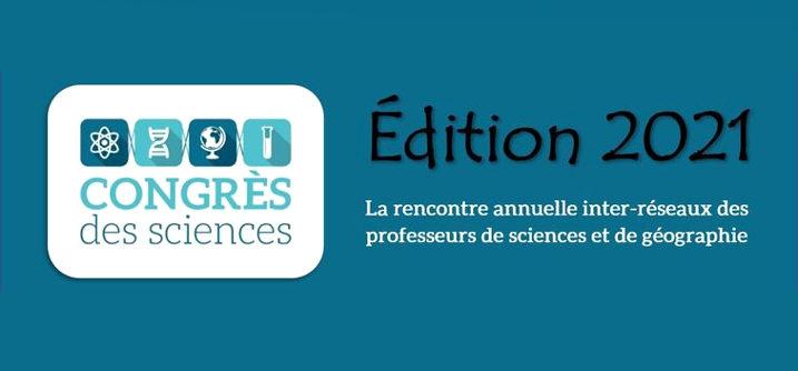 banner Congres des Sciences 2021