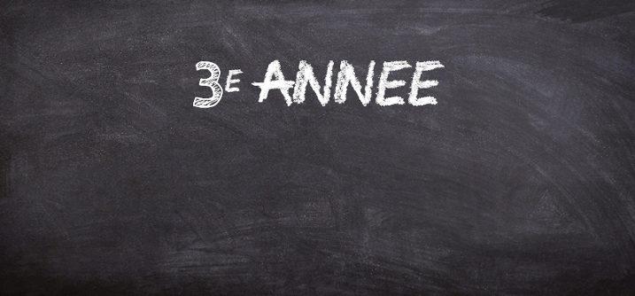 sequence pedagogique 3e annee