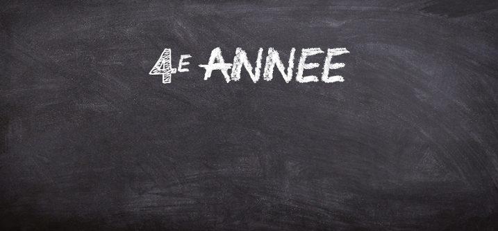 sequence pedagogique 4e annee