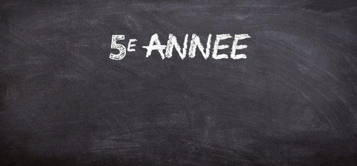 sequence pedagogique 5e annee